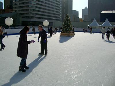 中之島特設スケートリンク
