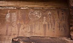 Faded Glory (IntrepidXJ) Tags: utah desert moab barrier rockart pictographs coloradoplateau