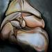 Seated folding body
