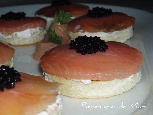 Montaditos de salmón 7