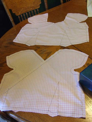 Thread traced muslin - Crepe Sew Along