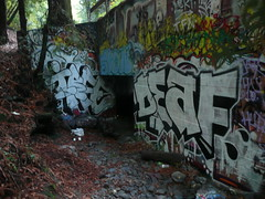 Irfe, Snow, Deaf (Steez Louise) Tags: santa net graffiti cruz hui ivk huik deafone
