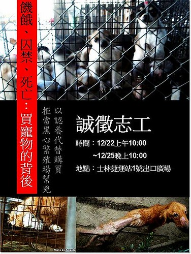 「絕食抗議活動」12月22至12月25日,於北市士林捷運站1號出口前廣場,急徵現場志工幫忙,參與才有機會改變,20101207