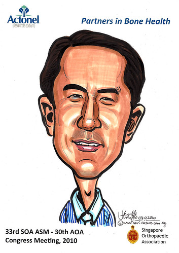 Caricatures for Sanofi-Aventis - 17