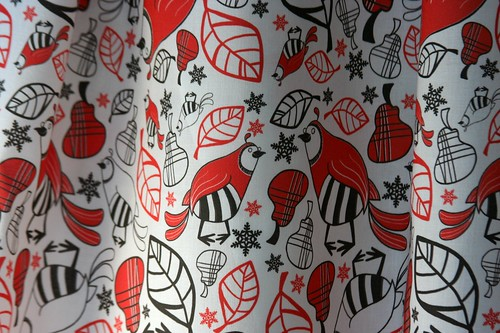 Fabric Of the Week Winner: 12 Days Of Christmas