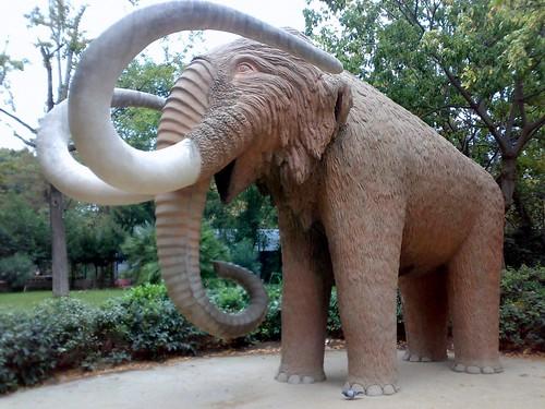 El Mamut del Parc de la Ciutadella