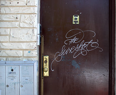 The Sure Shot (break.things) Tags: door nyc newyorkcity ny newyork brooklyn graffiti sure sureatm thesureshot
