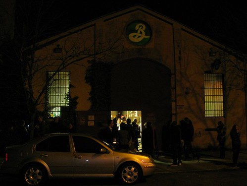 Brooklyn Brewery Building during Happy Hour