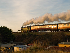Steaming to Santa (3) (Gerry Balding) Tags: england train norfolk engine railway steam locomotive sheringham coaches eastanglia tankengine gwr northnorfolkrailway northnorfolk 5619 uksteam santasspecial 56xx thepoppyline 062t mgnr