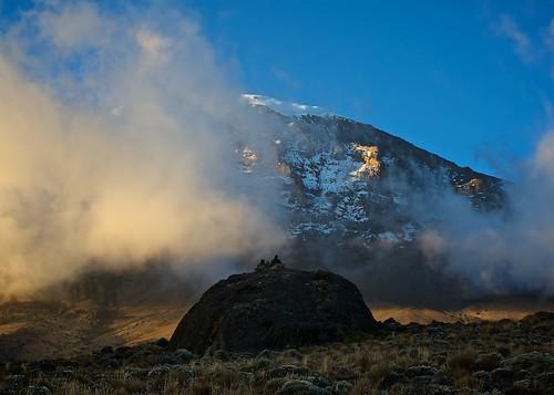 South face Kilimanjaro