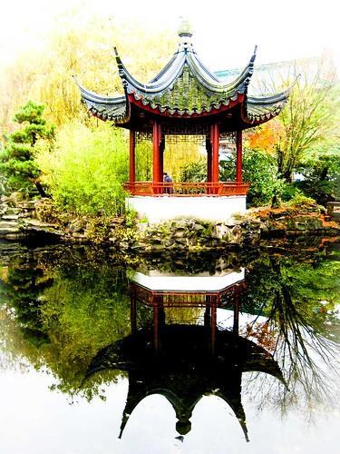 Chinatown, Vancouver, jardín chino