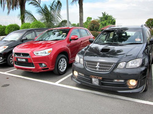 Mitsubishi ASX vs Airtrek Turbo