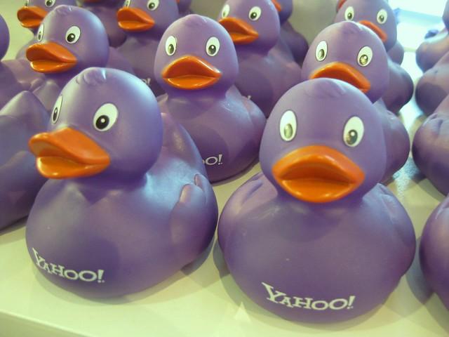 Yahoo! rubber duckies