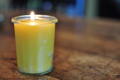 i made a candle