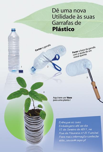 Garrafas Plástico