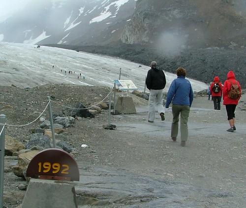 Athabasca Glacier 1992