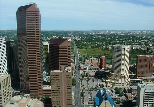 uitzicht Calgary Tower