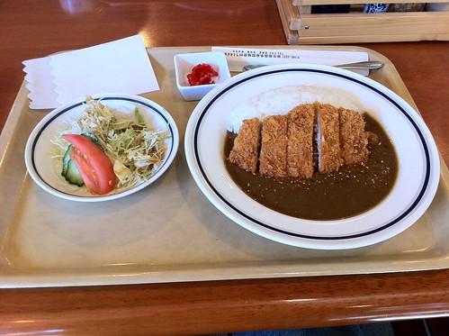 カツカレー@いちばん空に近いレストラン