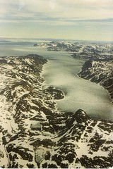East Coast of Baffin Island in spring