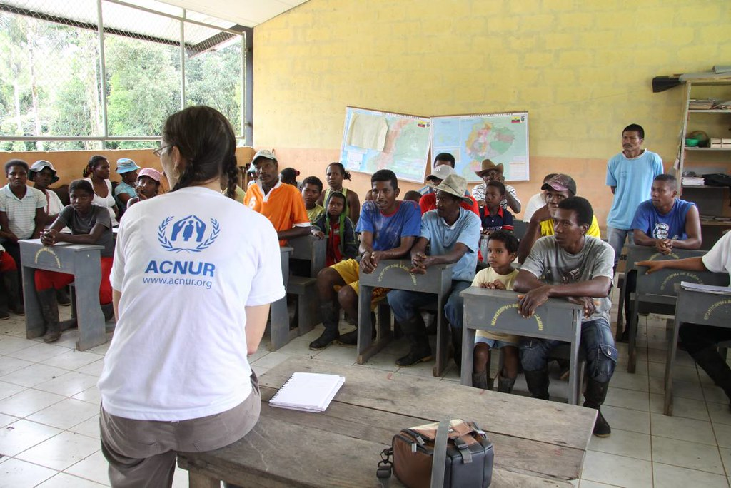 UNHCR News Story: Going where other people don't go: UNHCR reaches out in Ecuador
