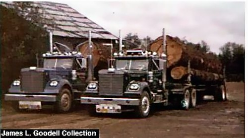 oregon-log-truck