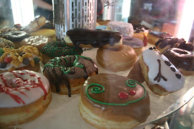 christmas donuts