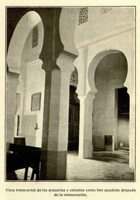 Iglesia de San Lucas en 1916, fotografía de D. Pedro Román Martínez para revista Arte Español