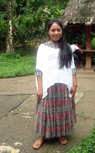 Mayan Woman textiles