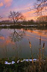 sfumature di fine giornata (alberto cmos) Tags: tramonto riflessi ohhh fiatlux sfumature riflessidorati