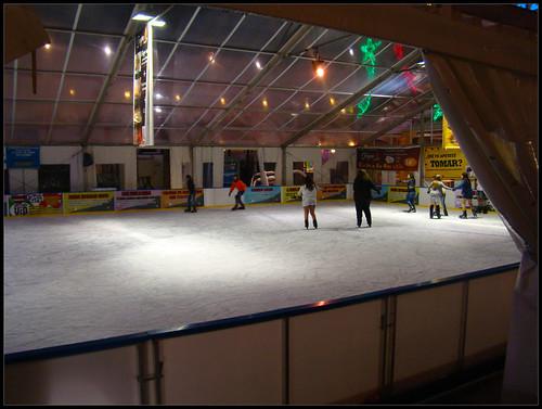 Pista patinaje Plaza Mayor