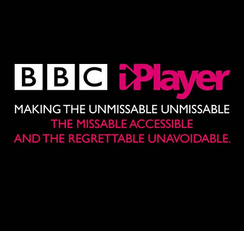 BBC iplayer: Making the unmissable unmissable, the missable accessible and the regretable unavoidable
