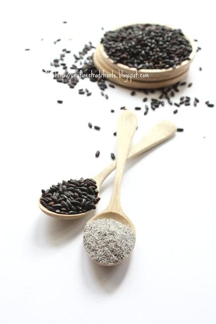 Farina di riso venere