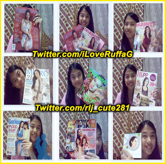 Ruffa Gutierrez' Fan Collects her Magazine Covers by MsRuffa