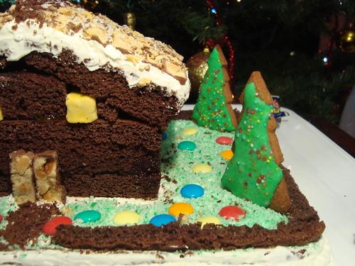 Casetta Di Natale Di Cioccolato : Caramelle di cioccolato fatti in casa e biscotti per tavola di