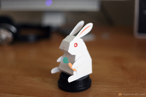 2011 Year of the Rabbit Papercraft 002