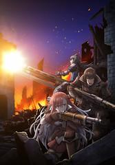 101221(1) - OVA《戦場のヴァルキュリア3 誰がための銃瘡》官網開設、第一張海報堂堂出爐!