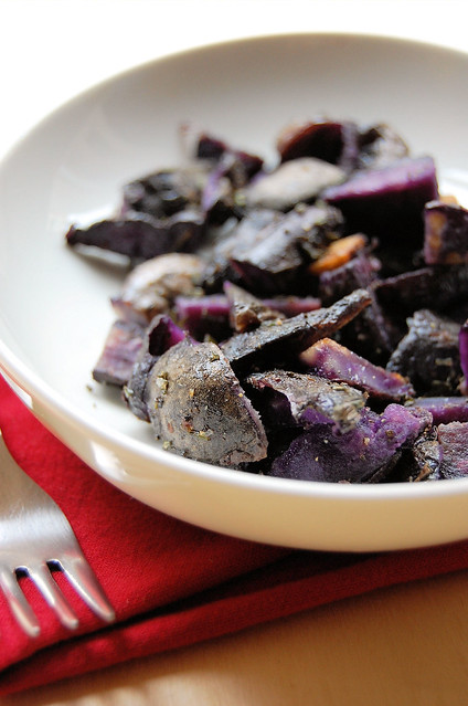 rosemary black potatoes