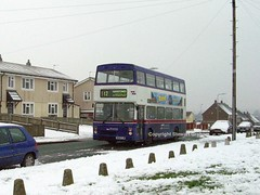 3108, Warstones in the snow (MCW1987) Tags: travel snow west mk2 midlands wolverhampton metrobus twm mcw 3108 mk2a g108fjw