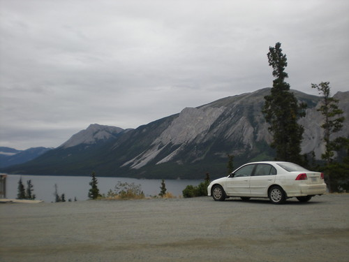 On the Alaska Highway near Yukon, BC