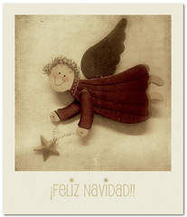 Feliz Navidad * Bon Nadal * Zorionak * Bo Nadal * Merry Christmas...!!!!! (MARISA1005) Tags: color textura polaroid merrychristmas feliznavidad