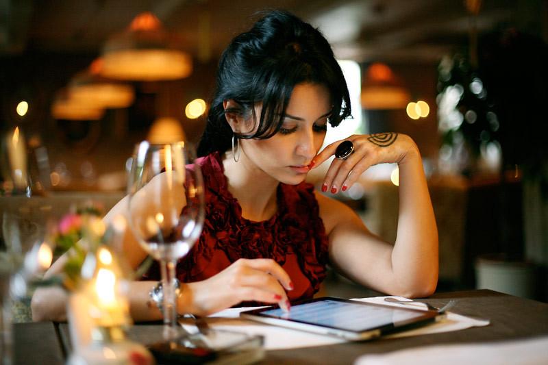 фото Канделаки с iPad