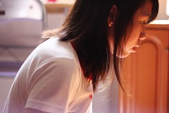 (Tricia Plwr) Tags: light sun selfportrait sideview 50mmf18 asdfghjkl