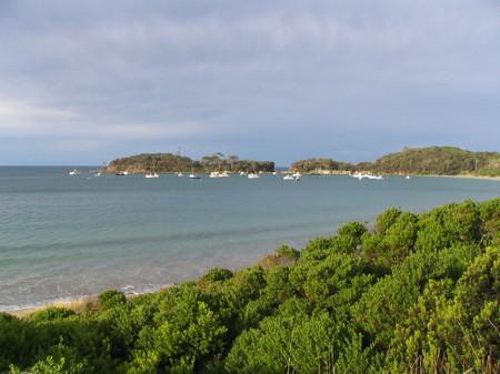 Safe harbour near Port Arthur