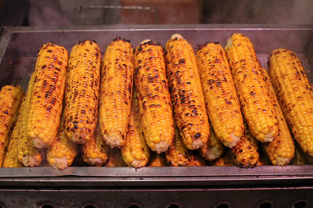 Roasted maize