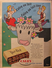 Caley's of Norwich chocolate advert - 1955 (mikeyashworth) Tags: 1955 advert norwich caley everybodys everybodysweekly cayleyschocolate ajcaley mikeashworthcollection