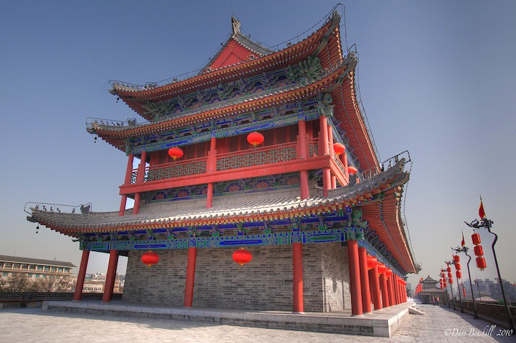 guard-towers-xian-city wall