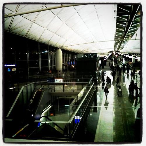 在香港機場大迷路在香港機場大迷路