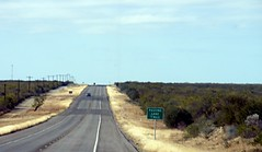 Road to Eagle Pass, Texas (asterisktom) Tags: usa greyhound bus america us texas unitedstates camion autobus 2010 estadosunidos eeuu eaglepass        tripwichitanov2010