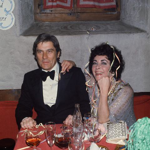 John Warner and Elizabeth Taylor