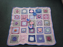 Jean Nock - Your Blanket ! Thank you for your beautiful Squares!